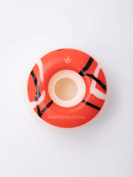 BRONX x Poetic Collective Red 101A Round Shape