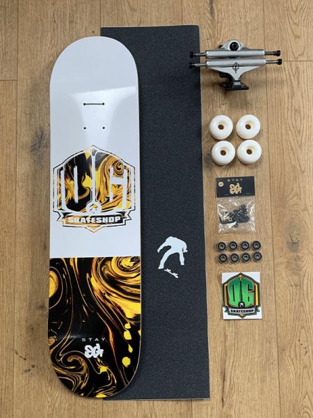 """OG Skateshop Beginner Setup Art Series """"Toxic"""""""