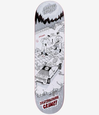 """Inpeddo It`s A Crime 8,25"""" Deck"""