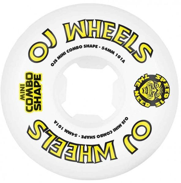 OJ Wheels Team Line 54mm 101A Rollen