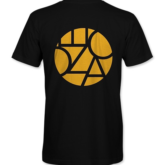 Ecozoka Classic T-Shirt Black/Gold