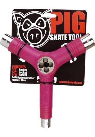 Pig Skatetool I Gewindeschneider (pink)