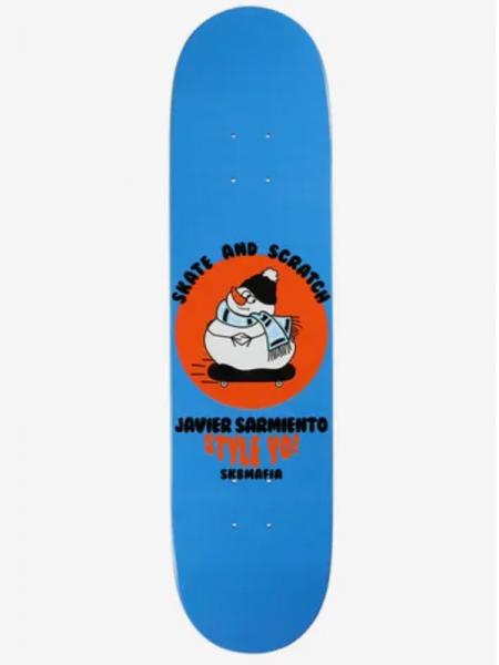 "Sk8mafia Deck Sarmiento Skate And Scratch 7,75"""