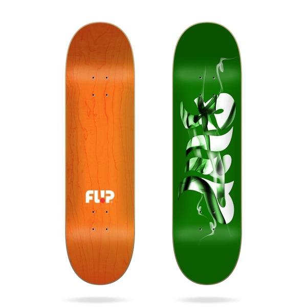 """Flip Deck Green Smokin 8.25"""""""