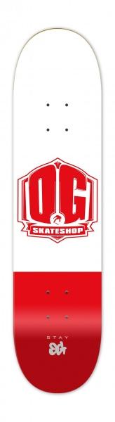 """OG Skateshop Colorz RED 8.25"""""""