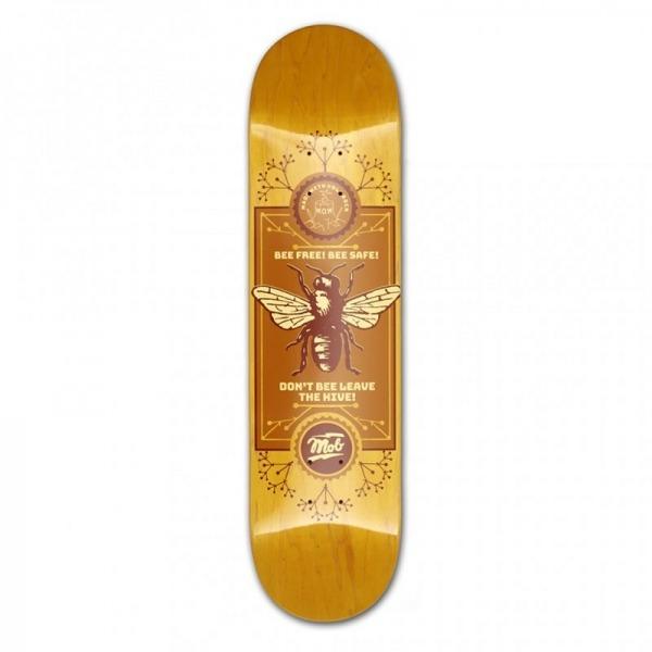 MOB Skateboards Bee Deck - 8.0