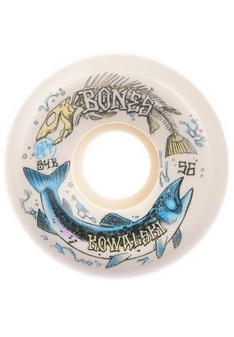 Bones SPF Kowalski Salmon Spawn 84B Sidecut 54mm Rollen