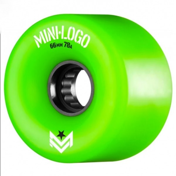 Mini logo rollen A.W.O.L 66mm 78a Green