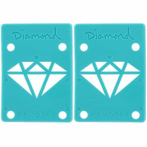 "Diamond Riser 1/8"" Teal"