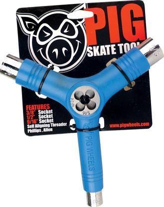 Pig Skatetool I Gewindeschneider (blue)