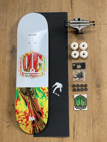 """OG Skateshop Beginner Setup Art Series """"Rasta"""""""