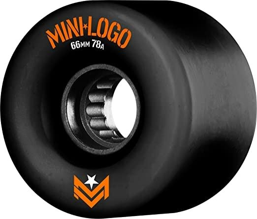 Mini logo rollen A.W.O.L 66mm 78a Blk