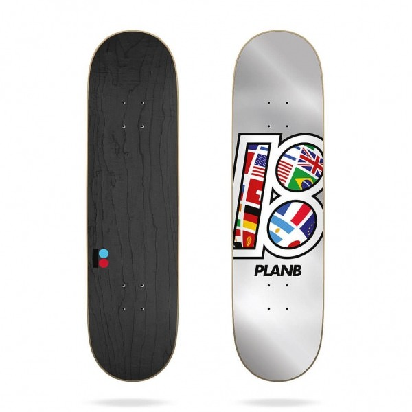 "Plan B Team Global 8,5"" Deck"