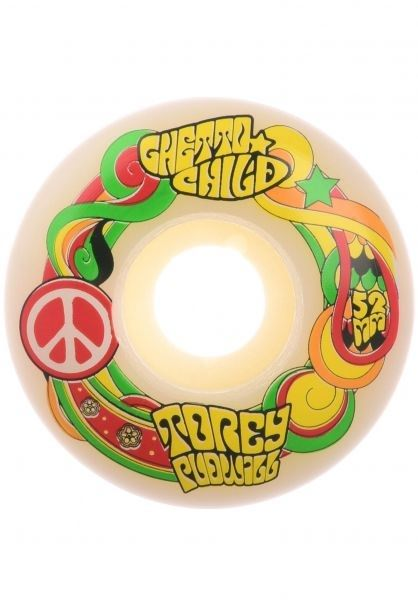 Ghetto Child Wheels Pudwill Peace 52mm 101A