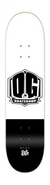 """OG Skateshop Colorz Black 7.75"""""""