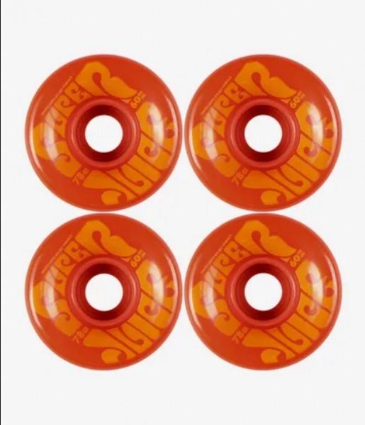 Oj Wheels Super Juice Rollen Orange 60mm 78a