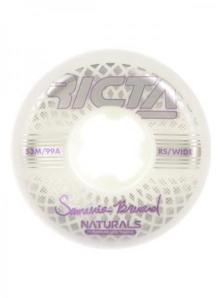 Ricta Wheels Brevard Reflective Naturalis Wide 53mm 99A