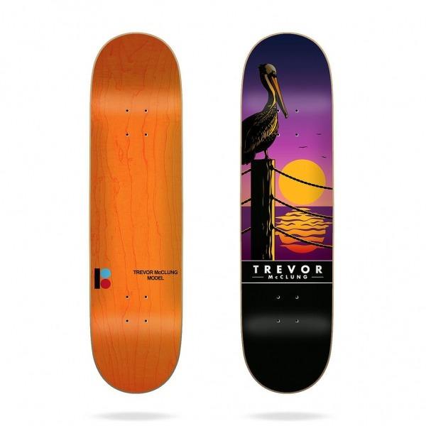 "Plan B Trevor Sunset 8.25"" Deck"