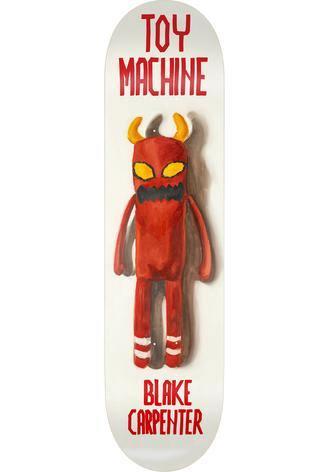 """Toy Machine Deck Doll Series Carpenter 8,38"""""""