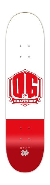 """OG Skateshop Colorz RED 8.0"""""""