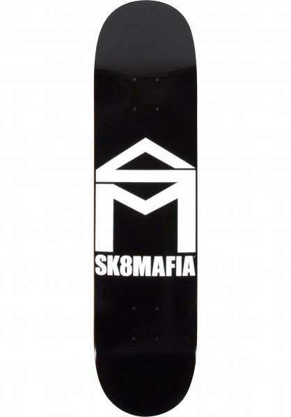 "Sk8mafia Deck House Logo Black 8"""