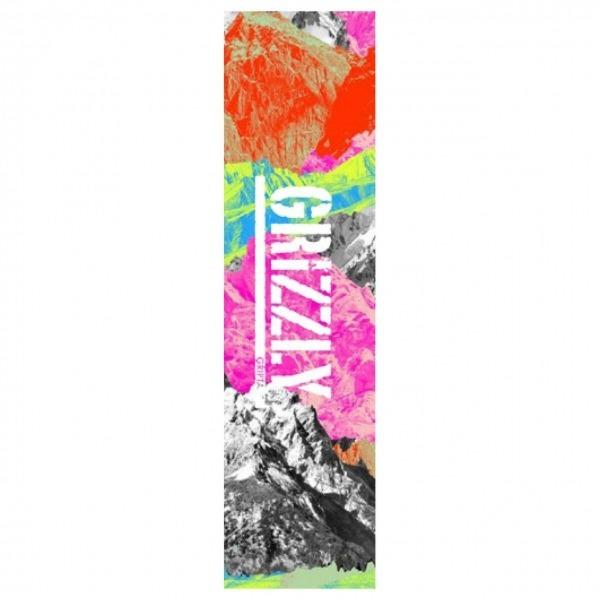 Grizzly Griptape Neon Range Stamp