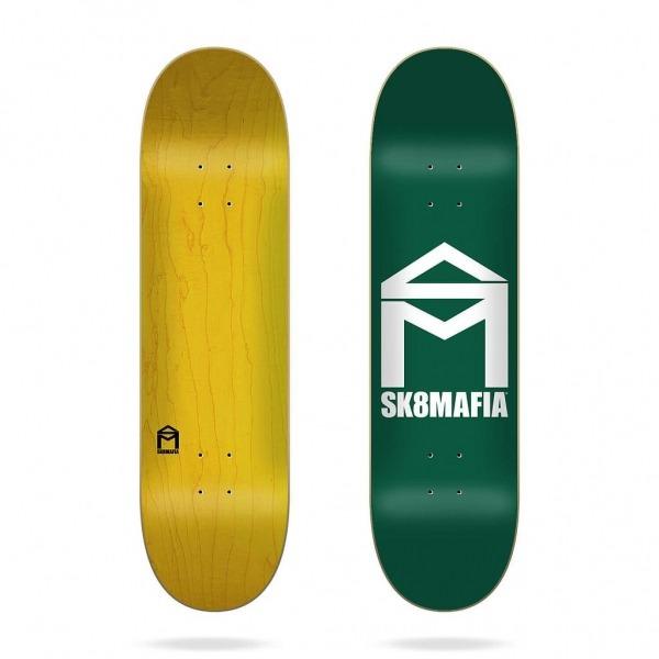 "Sk8mafia House Logo Green 8.25"" Deck"