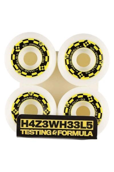 Haze Wheels Prime Cut II 53mm 99a V5 Shape Rollen