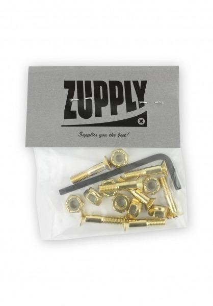 """Zupply Inbus 7/8"""" Gold Montagesatz"""