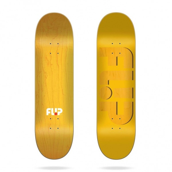 "Flip Odyssey Embossed Yellow 8,13"" Deck"