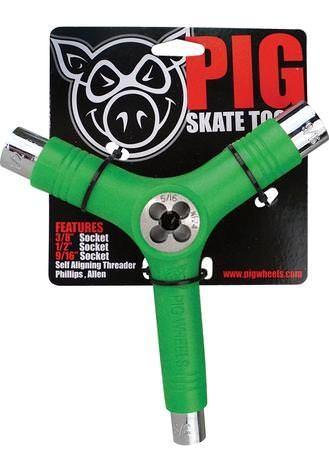 Pig Skatetool I Gewindeschneider (green)
