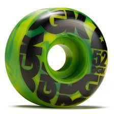 DGK Wheels Swirl Formula 52mm 99a