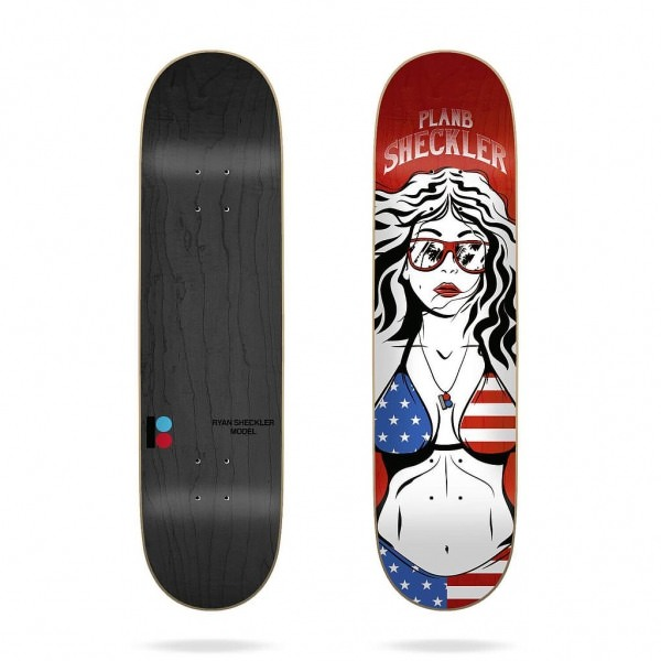 "Plan B Sheckler Americana 8.0"" Deck"