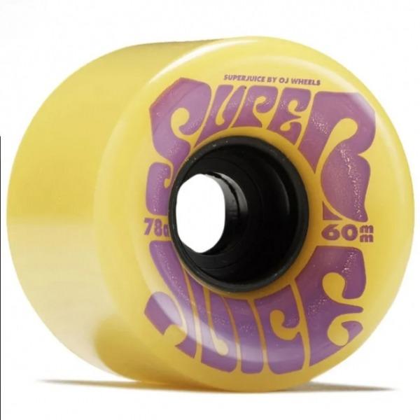 Oj Wheels Super Juice Rollen Yellow 60mm 78a