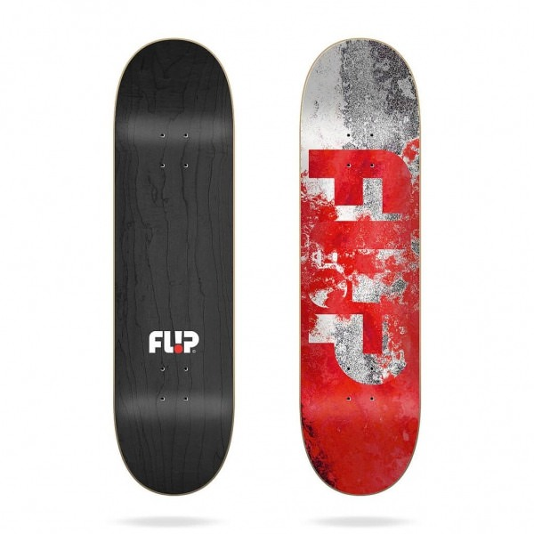 "Flip Team Distortion Red 8,0"" Deck"