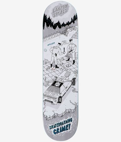 "Inpeddo Inpeddo It`s A Crime 8"" Deck"