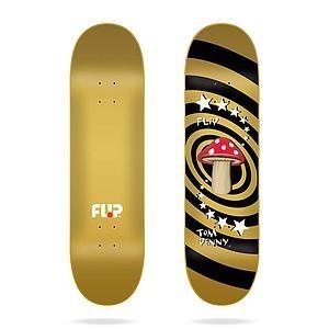 """Flip Deck Penny Mushroom Gold 8,25"""""""