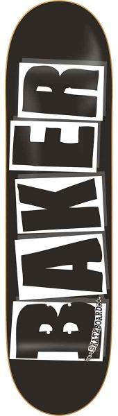 """Baker Brand Logo 8.125"""" Deck (black)"""
