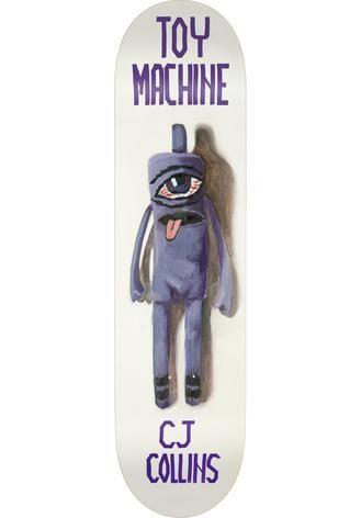 """Toy Machine Deck Doll Series Collins 7,75"""""""