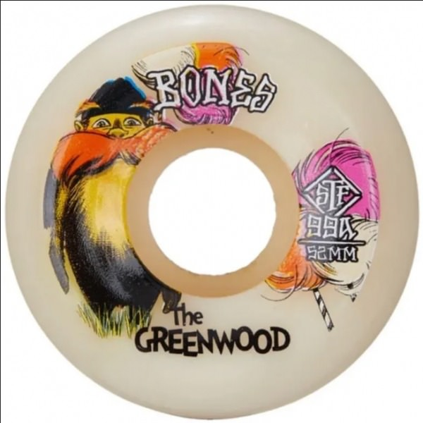 Bones rollen The Greenwood 52mm 99a v5