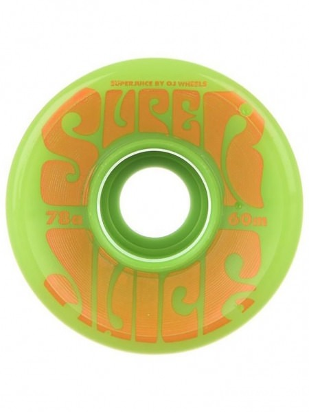 Oj Wheels Super Juice Rollen Green 60mm 78a