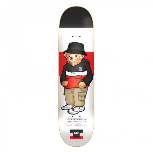 "DGK Dirty Ghetto Bears Shanahan 8"" Deck"