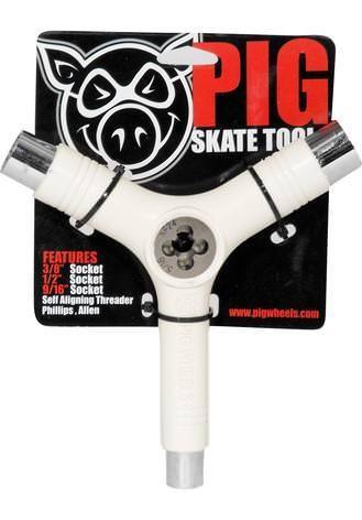 Pig Skatetool I Gewindeschneider (white)