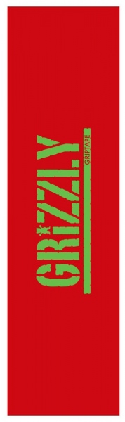 Grizzly Griptape Neccessities Red
