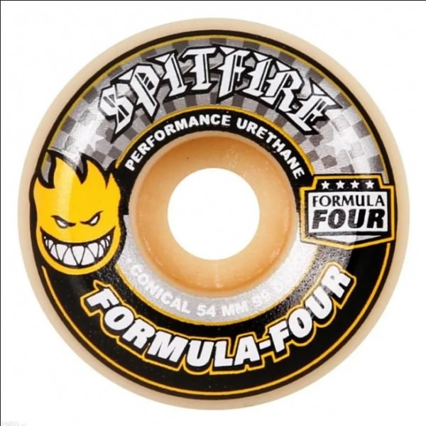 Spitfire F4 Conical Full 99A 52mm Yellow