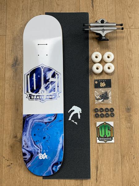 "OG Skateshop Beginner Setup Art Series ""Blue Acid"""