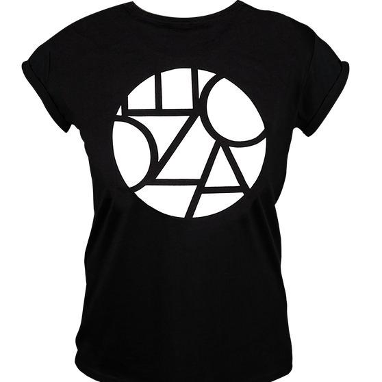 Ecozoka Classic Frauen T-Shirt Black/White