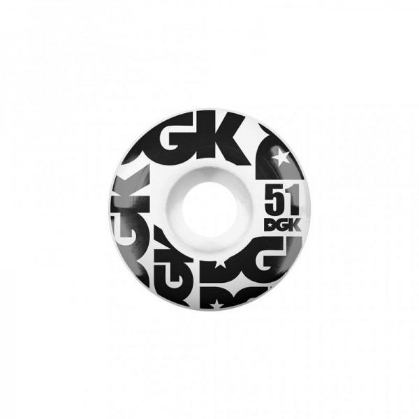 DGK Street Formula Wheels 51mm 101A