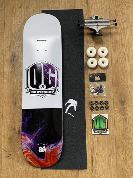 """OG Skateshop Beginner Setup Art Series """"Galaxy"""""""